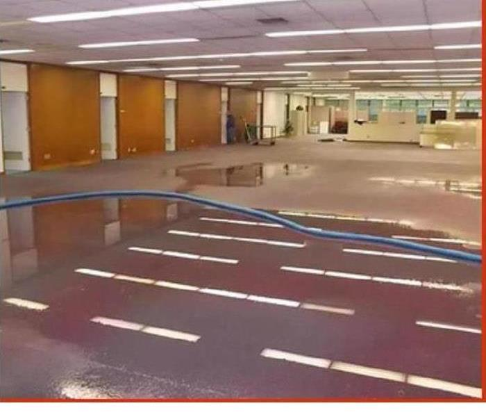 Just a flood in your commercial building? Before