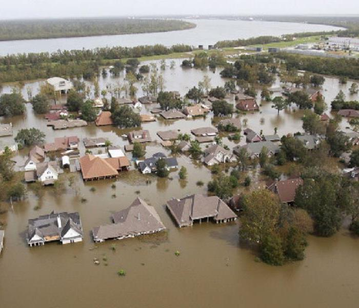 Storm Damage Louisiana Flooding Impacts 40,000 Homes